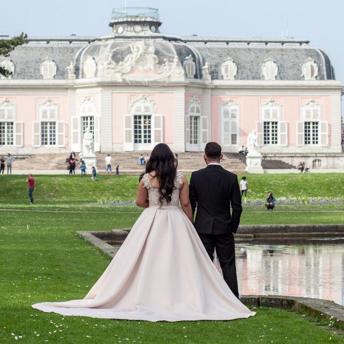 Hochzeit im Schloss Benrath in Düsseldorf